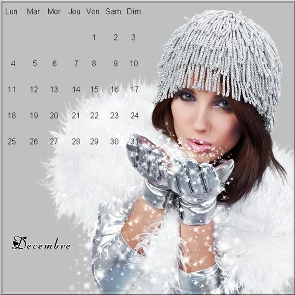 calendrier decembre