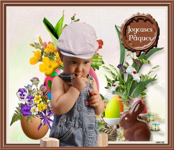 Joyeuses fêtes de Pâques'